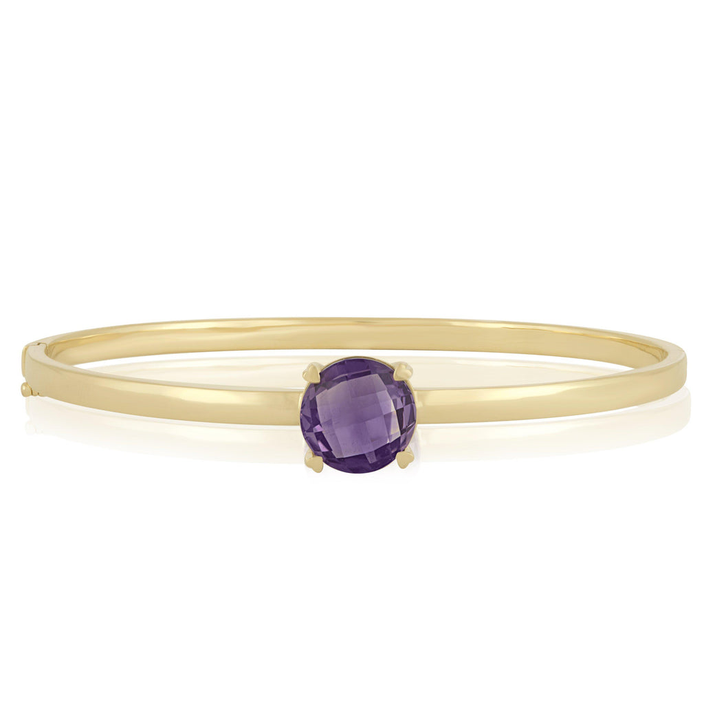 Lisa Nik Rocks Amethyst Bangle-Bachendorf's Dallas - Fort Worth's Finest Designer Jewelry