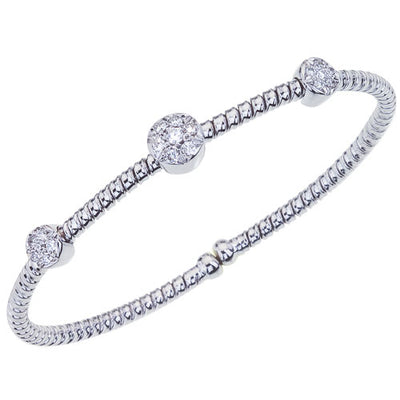 Fallon B Three Row Station Bracelet-Bachendorf's Dallas - Fort Worth's Finest Designer Jewelry