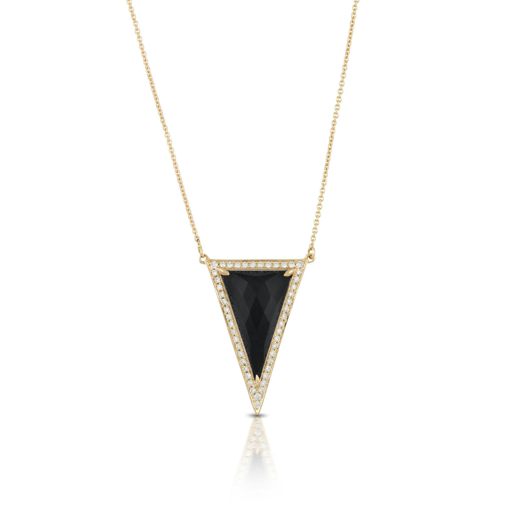 Doves Gatsby Onyx Necklace-Bachendorf's Dallas - Fort Worth's Finest Designer Jewelry