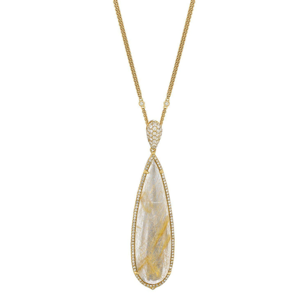 Doves Teardrop Necklace-Bachendorf's Dallas - Fort Worth's Finest Designer Jewelry