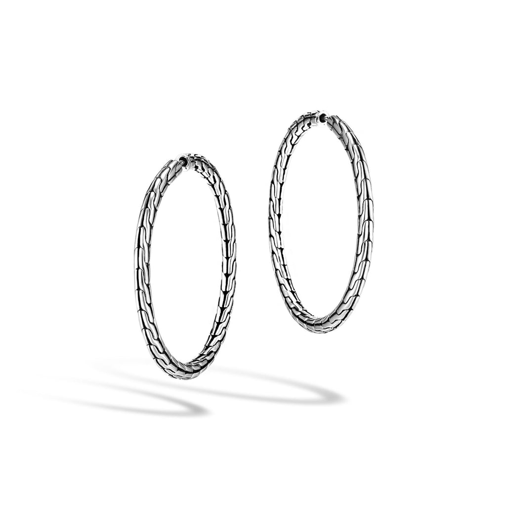 Classic Chain Medium Hoop Earring