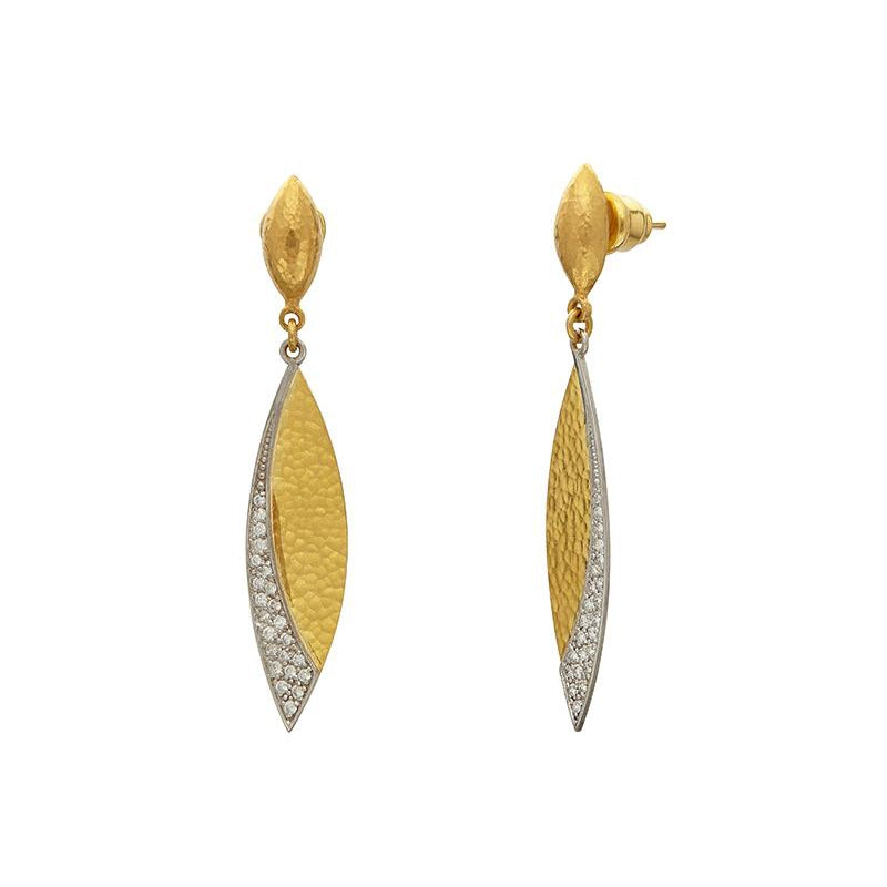 Gurhan Mango Pave Earrings