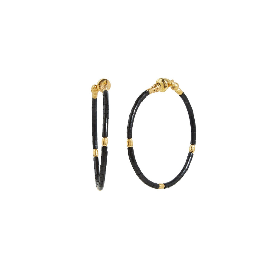 Gurhan Jet Set Hoop Earrings, Small