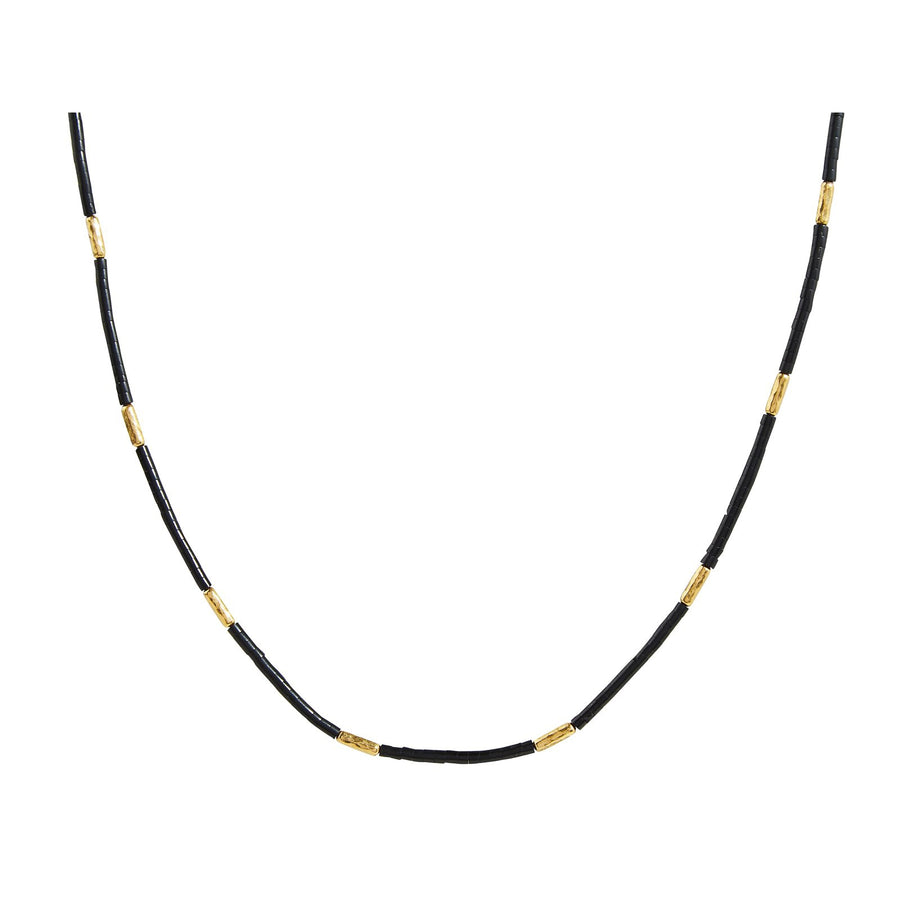Gurhan Jet Set Single Strand Necklace, Jet, 18""