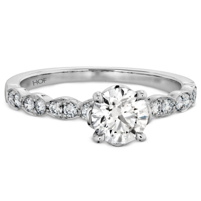 Lorelei Floral Engagement Ring-Bachendorf's Dallas - Fort Worth's Finest Designer Jewelry