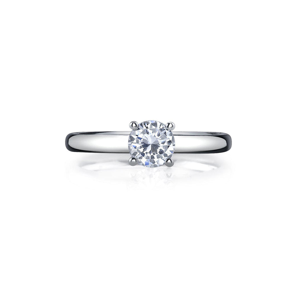 J1100003 Round Solitaire-Bachendorf's Dallas - Fort Worth's Finest Designer Jewelry