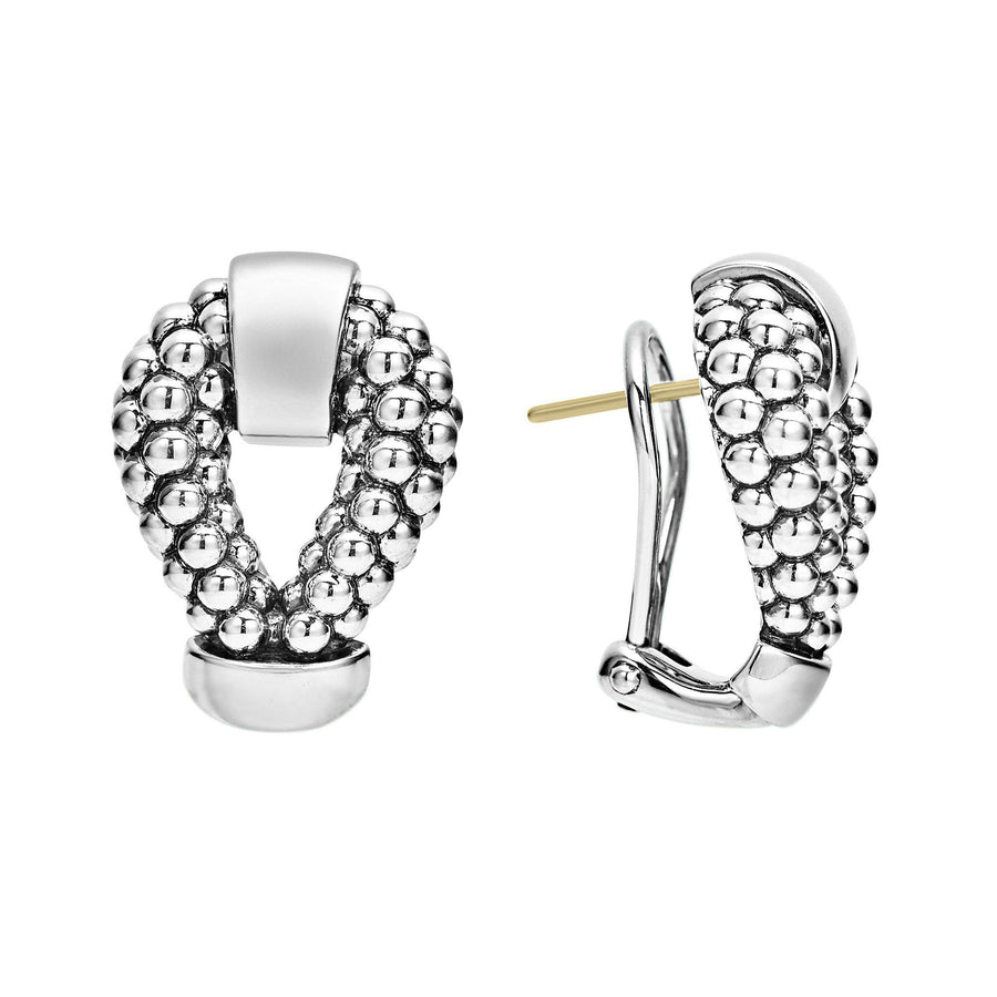 Lagos Derby Caviar Beaded Earrings-Bachendorf's Dallas - Fort Worth's Finest Designer Jewelry