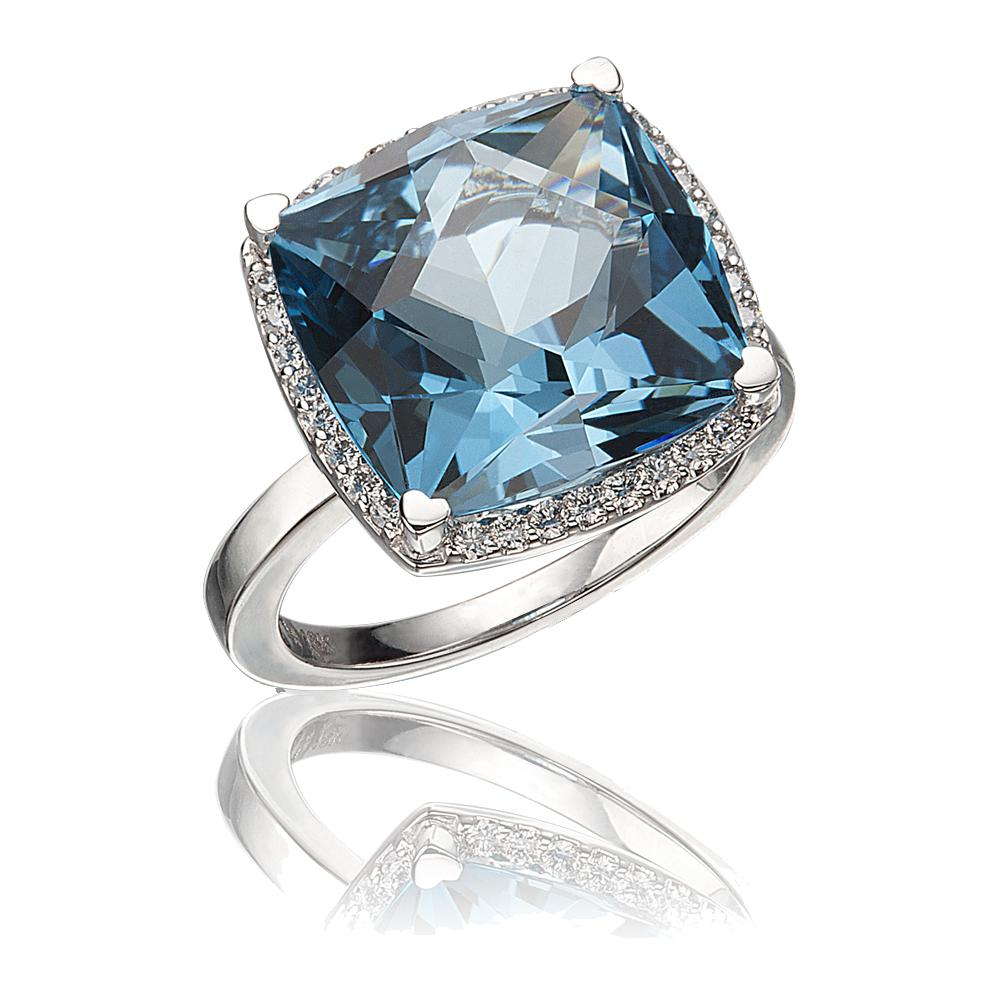Lisa Nik Rocks Blue Topaz Ring-Bachendorf's Dallas - Fort Worth's Finest Designer Jewelry