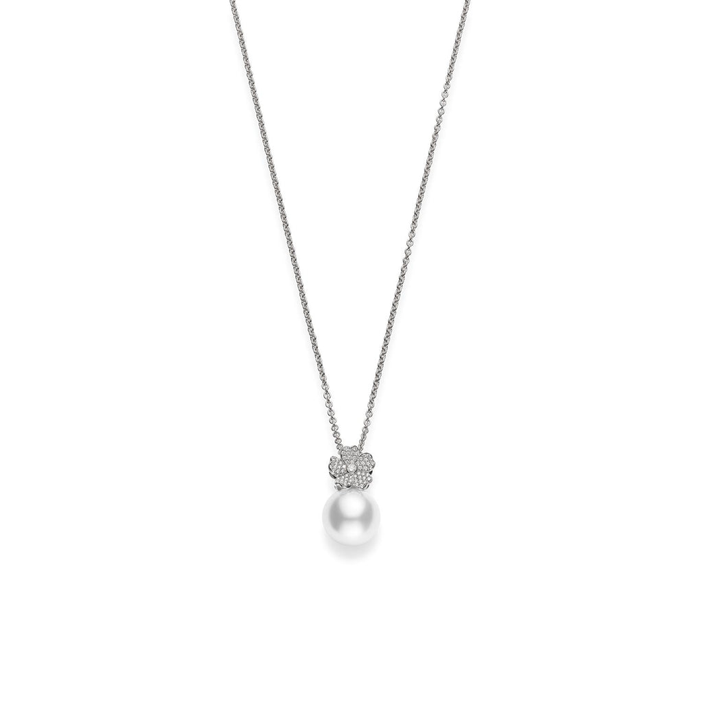 Mikimoto Cherry Blossom Pearl Pendant-Bachendorf's Dallas - Fort Worth's Finest Designer Jewelry
