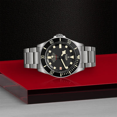 TUDOR Pelagos - Black Dial on side