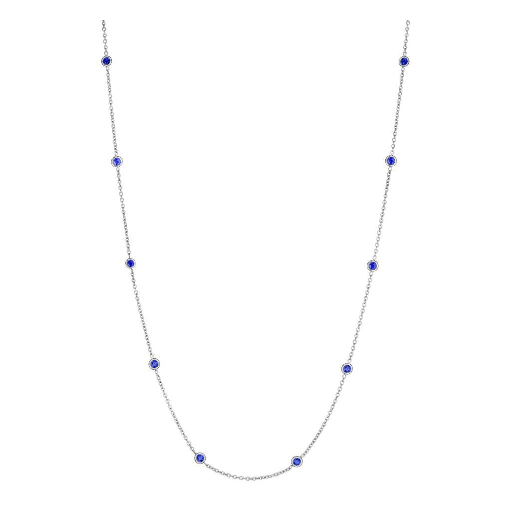 Penny Preville Blue Sapphire Eyeglass Chain