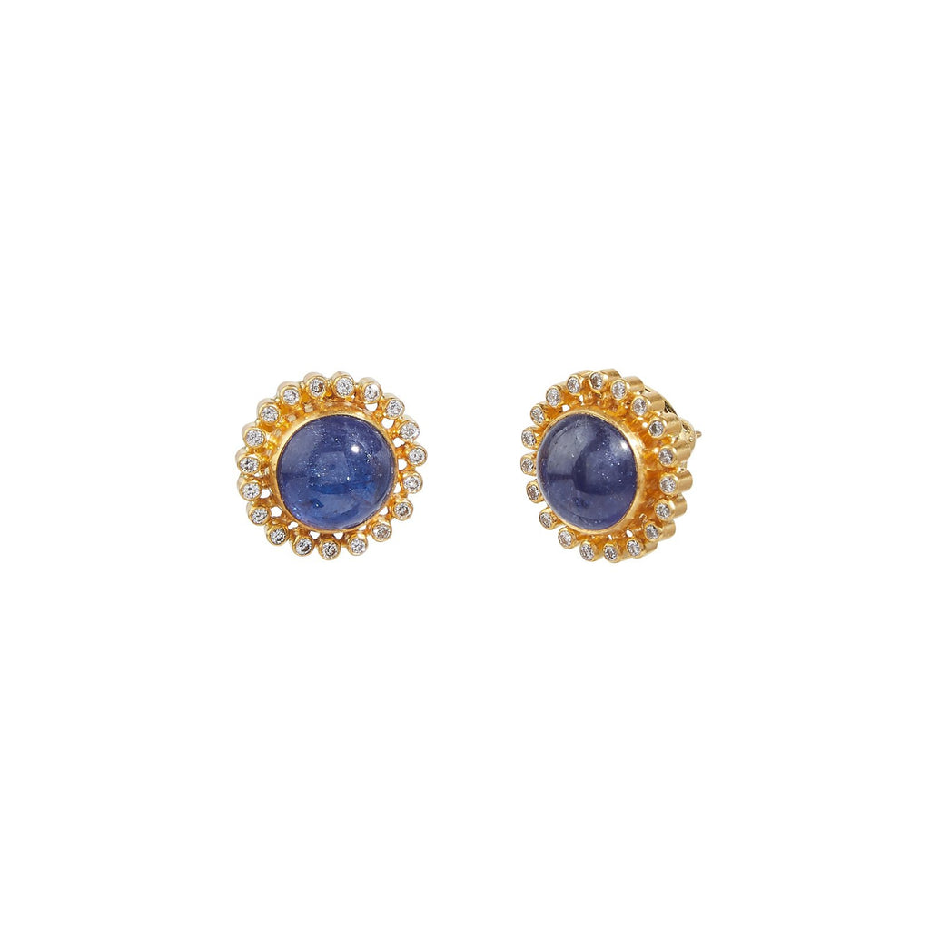 Gurhan Rune Stud Earrings