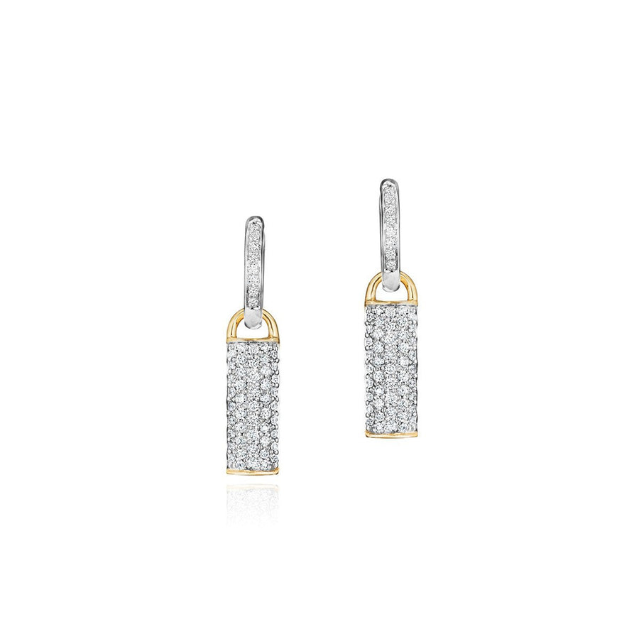 Phillips House Contrast Bar Earrings