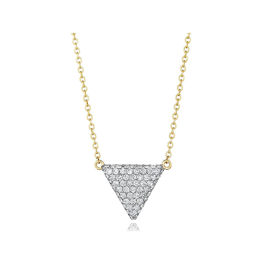 Phillips House Triangle Diamond Pendant