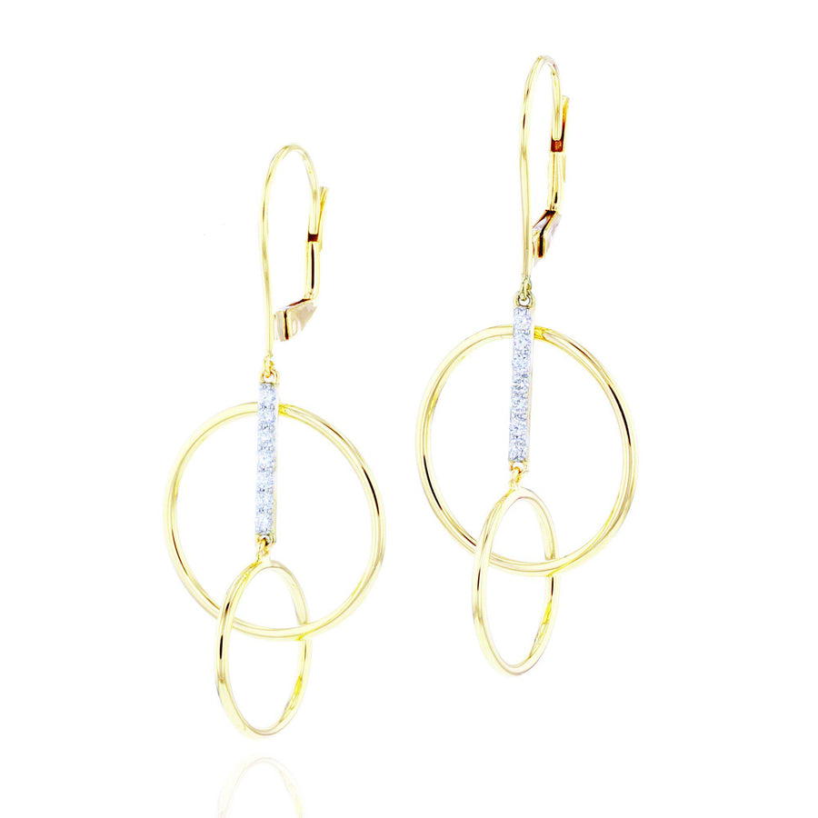 Phillips House Single Loop Drop Earrings-Bachendorf's Dallas - Fort Worth's Finest Designer Jewelry