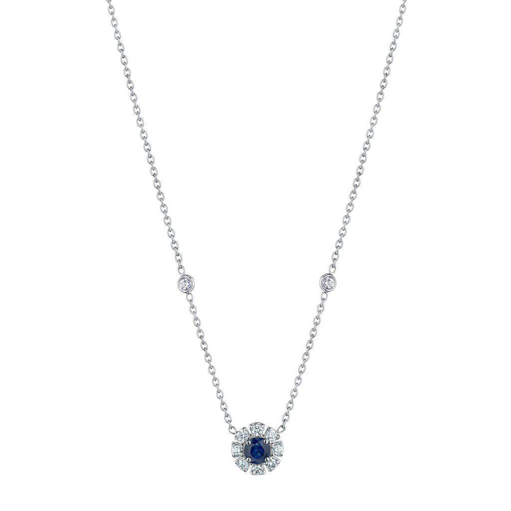 Penny Preville Blue Sapphire Necklace-Bachendorf's Dallas - Fort Worth's Finest Designer Jewelry