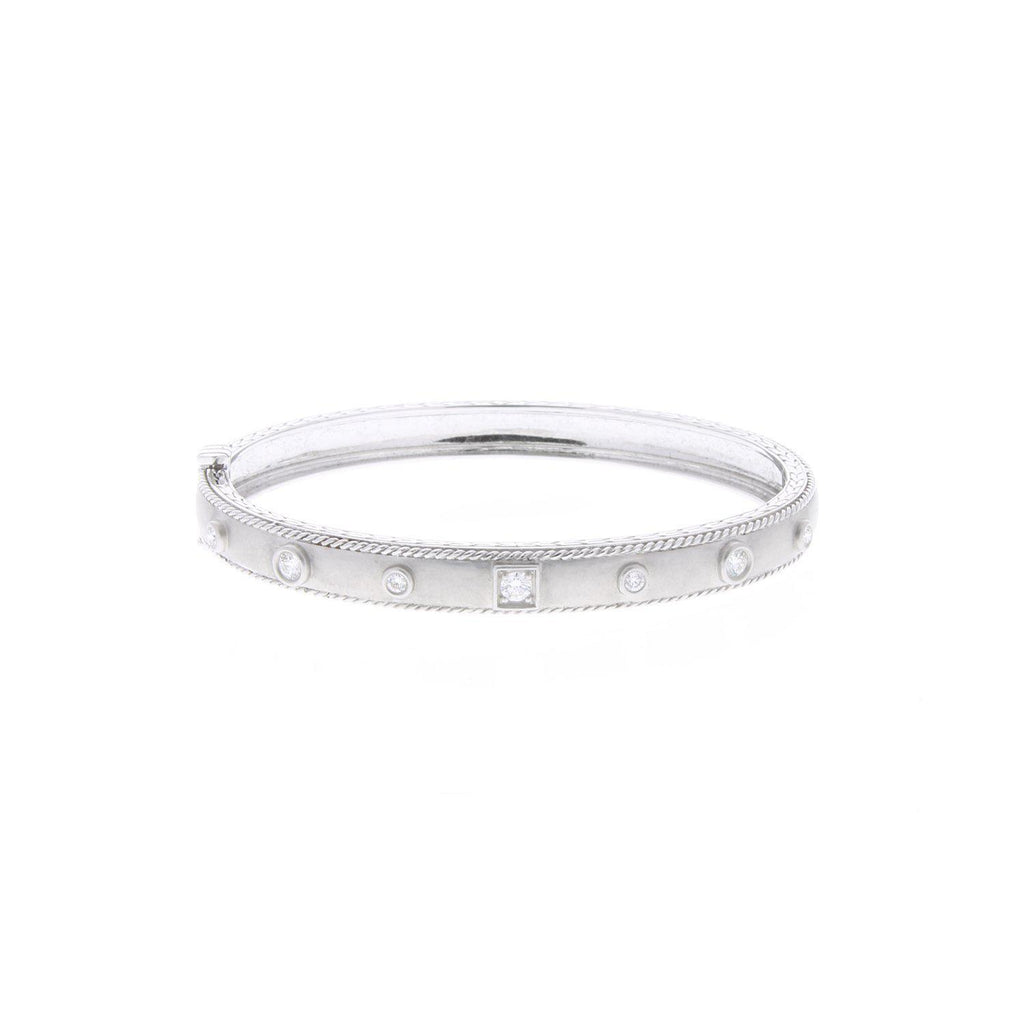 Penny Preville White Gold Stacking Bangle-Bachendorf's Dallas - Fort Worth's Finest Designer Jewelry