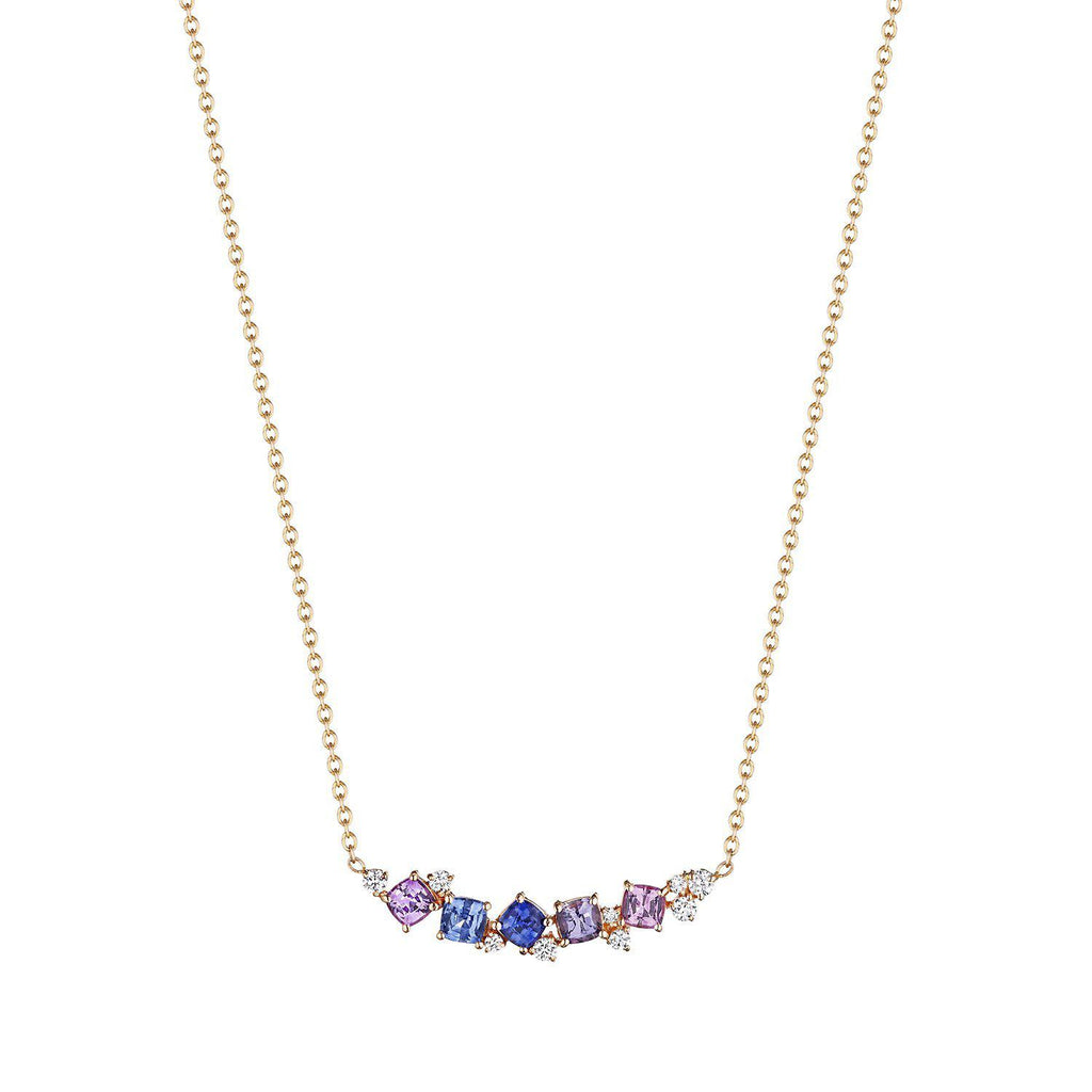 Penny Preville Rainbow Bar Necklace-Bachendorf's Dallas - Fort Worth's Finest Designer Jewelry