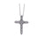 Bachendorf's Platinum Diamond Cross Pendant