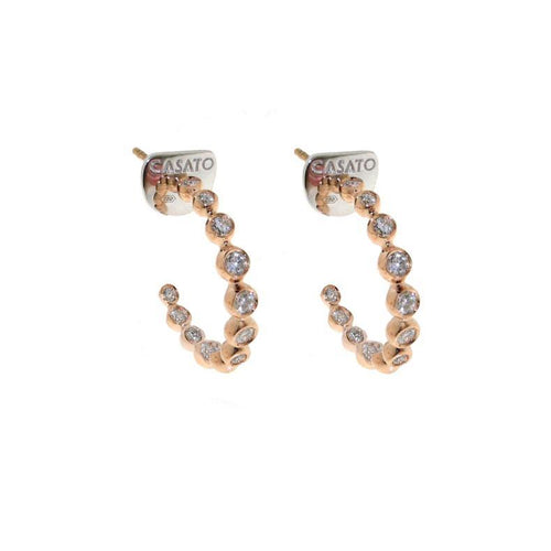 Casato Boutique Hoop Earrings-Bachendorf's Dallas - Fort Worth's Finest Designer Jewelry
