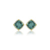 LISA NIK INDICOLITE STUD EARRINGS