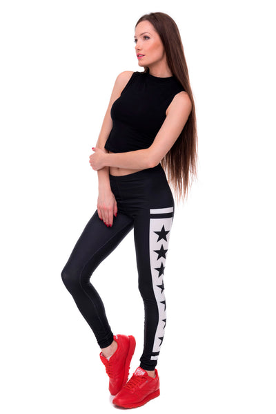 Elasticity Yes and No Printed Slim Fit Legging.