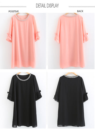 Chiffon Summer dress Plus Size 6XL 5XL 4XL 3XL 2XL XL L M.