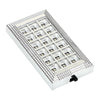 Auto Interior Roof Ceiling Lamp Bulb White Rectangular 18LED.