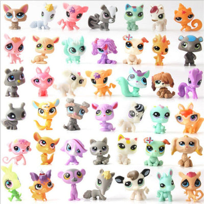 10PCS Children Magic lol Pop Animals Model Toys Funny  Pet.