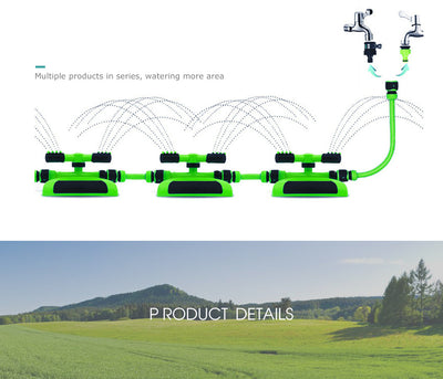 360 Rotating Sprayer.