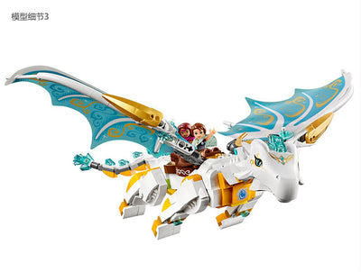 A toy A dream Bela Elves 10550 White Dragon The Elf Series.