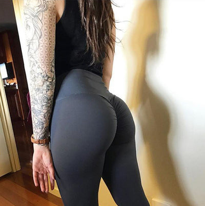 2018 New Sexy Slim Fitness High Leggings Women.