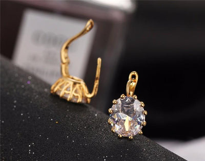 4 Colors Gold Color  Crystal  for Women