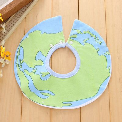 Waterproof Pure cotton bandanna accessories for baby