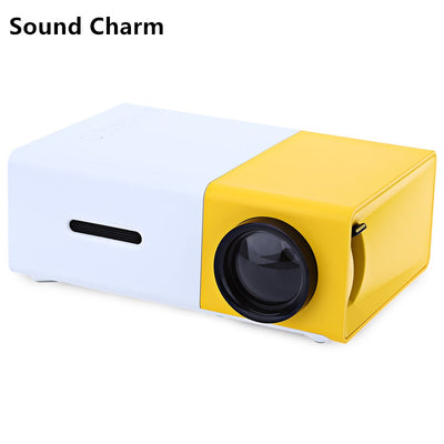 Entertainment Projector Mini LED Video Home  With HDMI USB Audio.