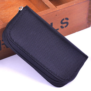 New Memory Card Storage Zippered Carrying Case
