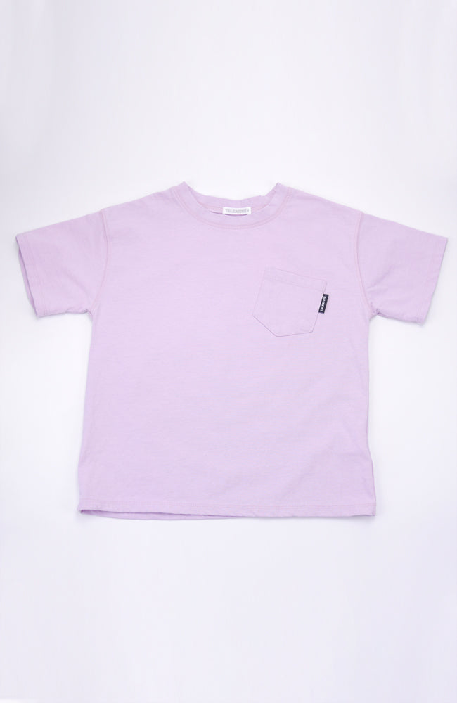 Knox Talkative Pocket tee in lavender for babies and kids