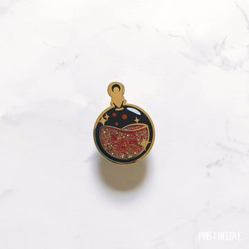 Black Lady Potion | Hard Enamel Pin
