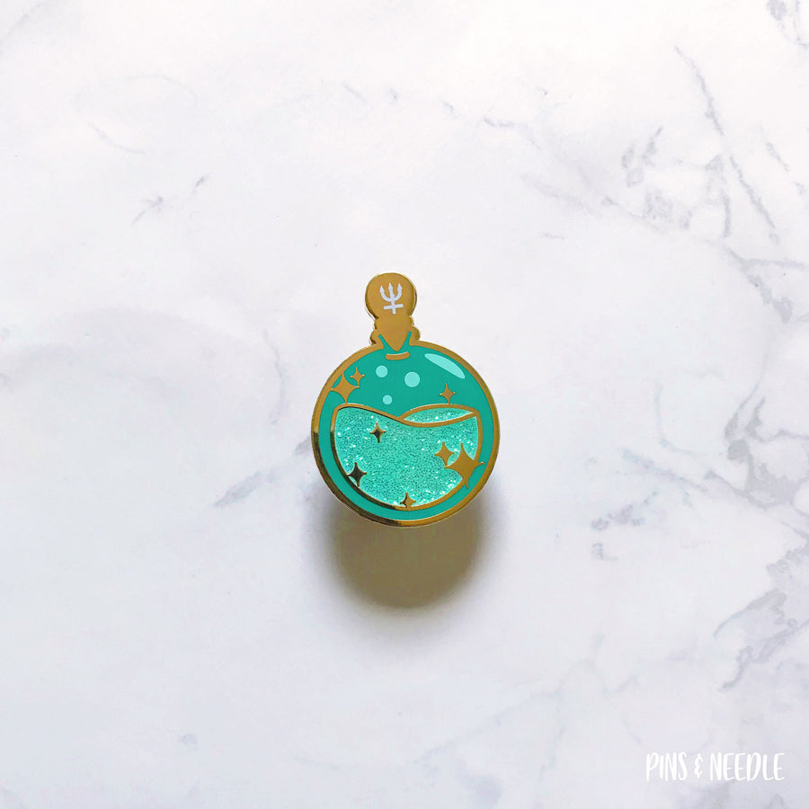 Neptune Potion - Hard Enamel Pin