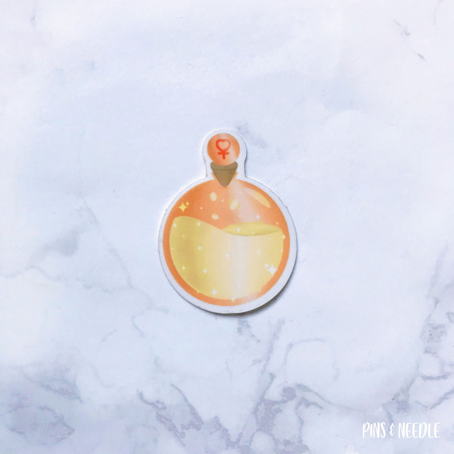 Venus Potion Sticker - Transparent Sticker