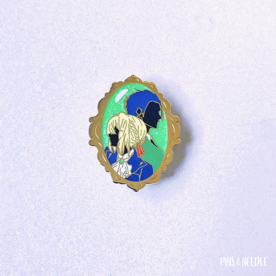 Lovers Missed - Portrait - Hard Enamel Pin