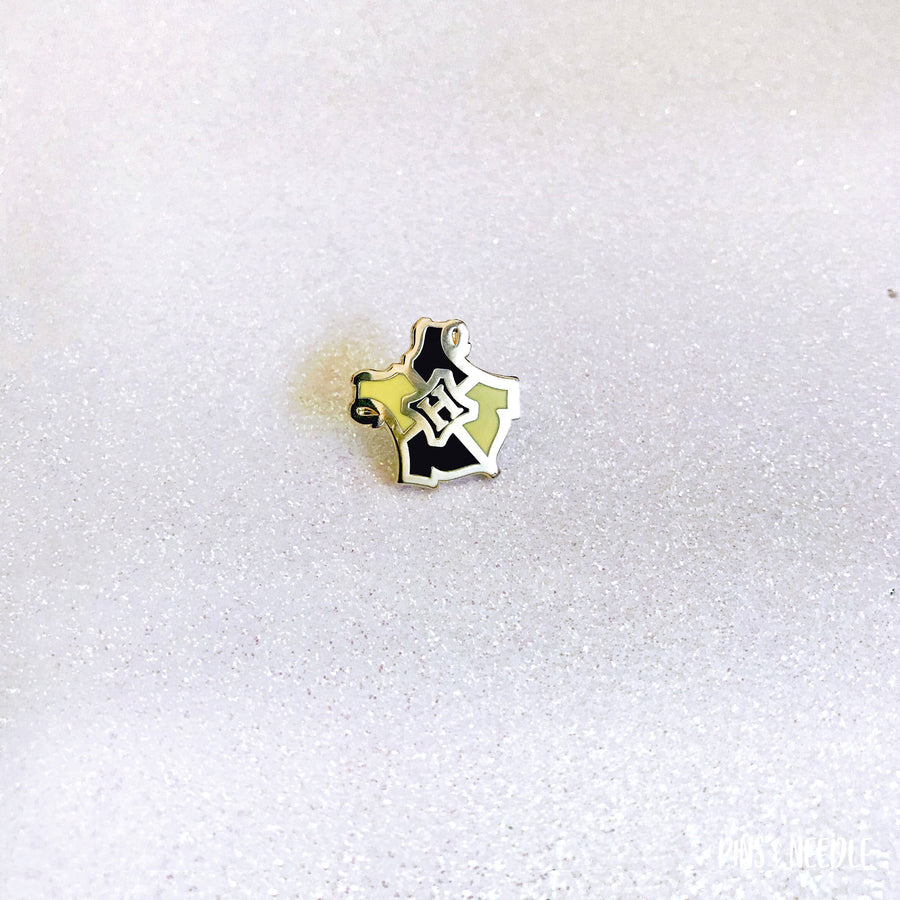 Magical Wizardry & Witchcraft - Hufflepuff | Mini Enamel Pin