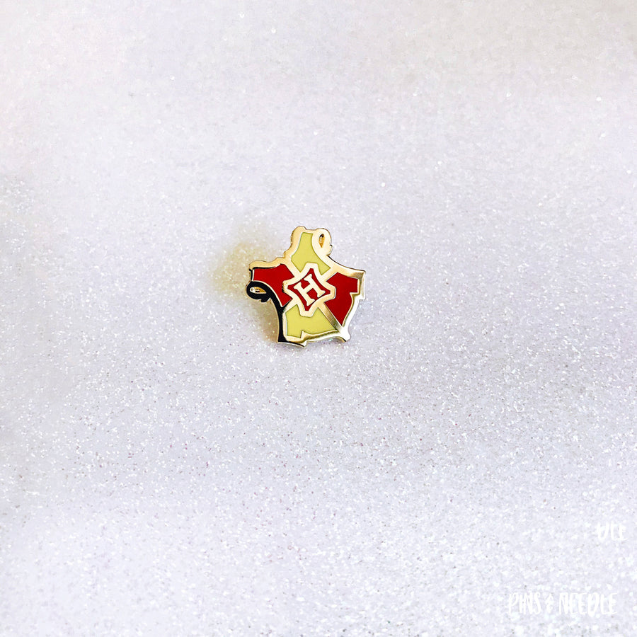 Magical Wizardry & Witchcraft - Gryffindor | Mini Enamel Pin