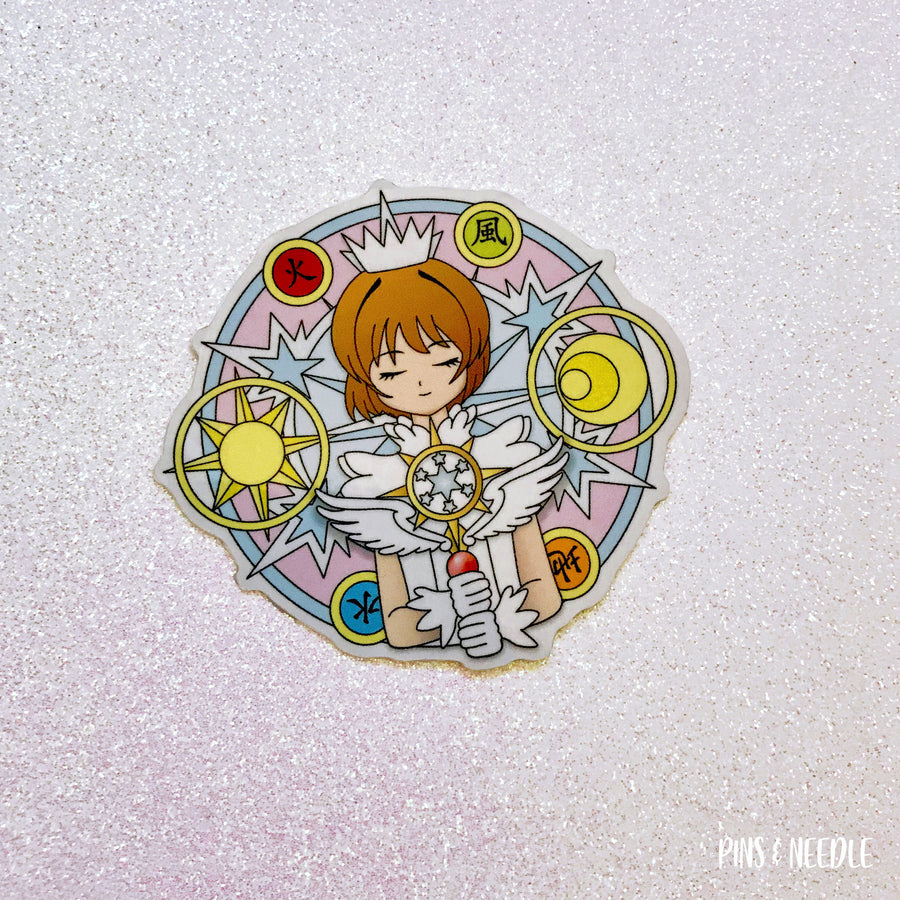 Clear Dream Sakura - Vinyl Sticker