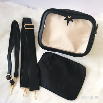 **PRE-ORDER** Minimalist Cross-body Itabag | Black