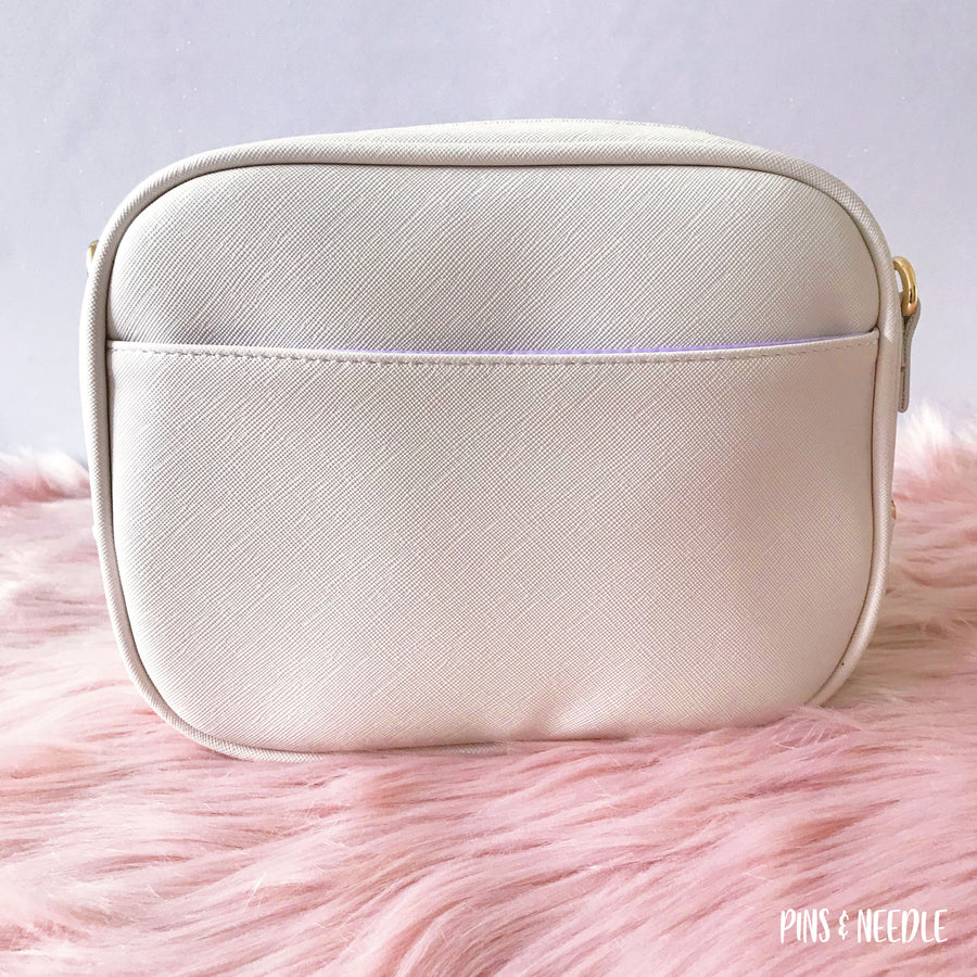 Minimalist Cross-body Itabag | Cream White