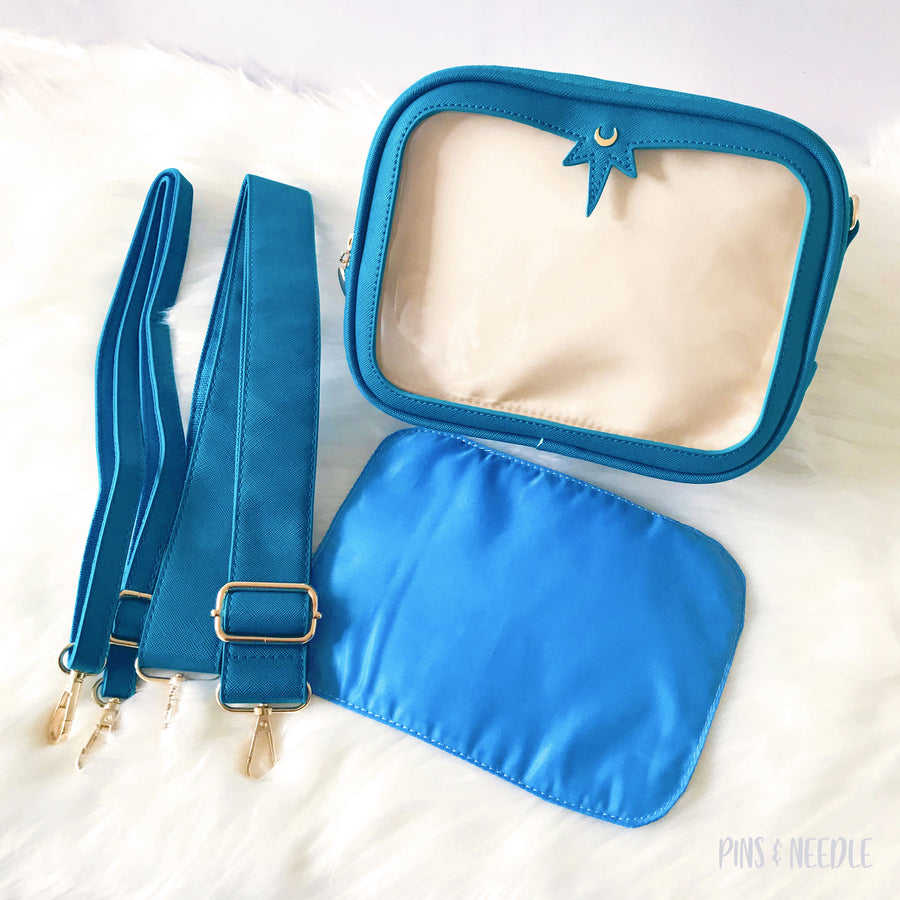 Minimalist Cross-body Itabag | Cerulean Blue