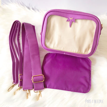 Minimalist Cross-body Itabag | Orchid Purple