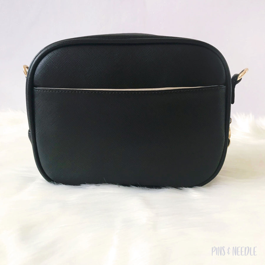Minimalist Cross-body Itabag | Black