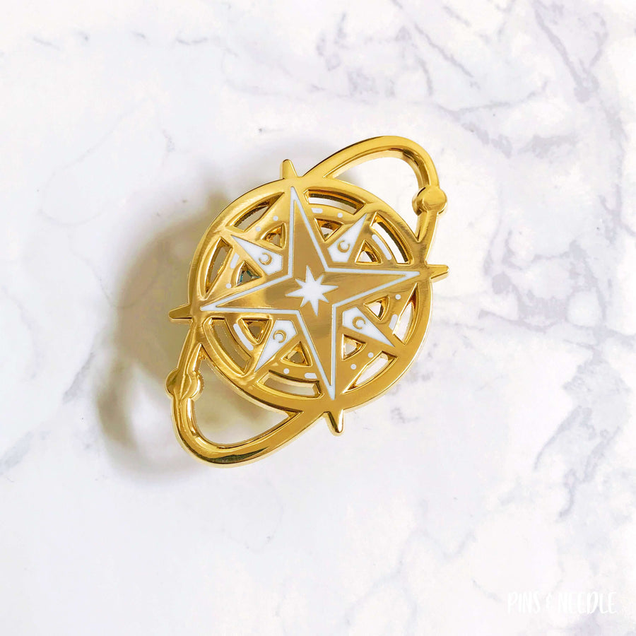 Cosmic Star - Gold metal | Hard Enamel Pin